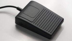 L-sealer, hoeklasser EM optie voetbediening