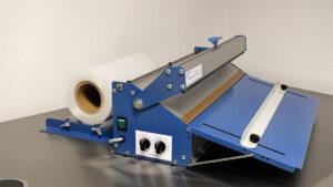 Lasbalk met magneetsluiting. Type SMS GW-WT-AR-KP-400 Krimpsysteem