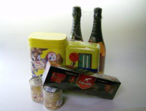 krimpverpakkingen assortiment consumentenverpakking met polyolefinefolie en polyethyleenfolie.